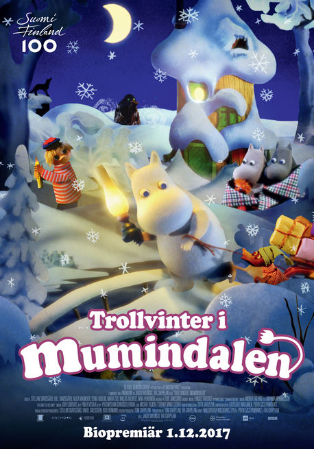 دانلود فیلم Moomins And The Winter Wonderland 2017