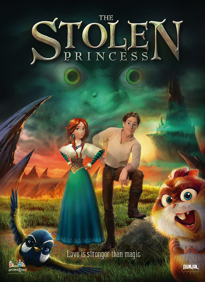 دانلود انیمیشن Stolen princess: Ruslan and Ludmila 2018