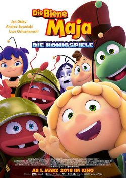 دانلود انیمیشن Maya The Bee The Honey Games 2018